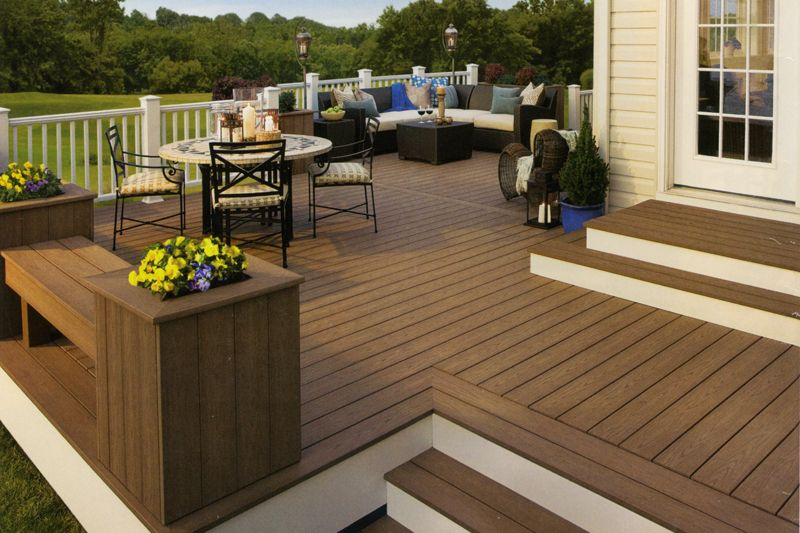17 best images about outdoor living on pinterest wood decks decks and decking - Trex Deck Design Ideas