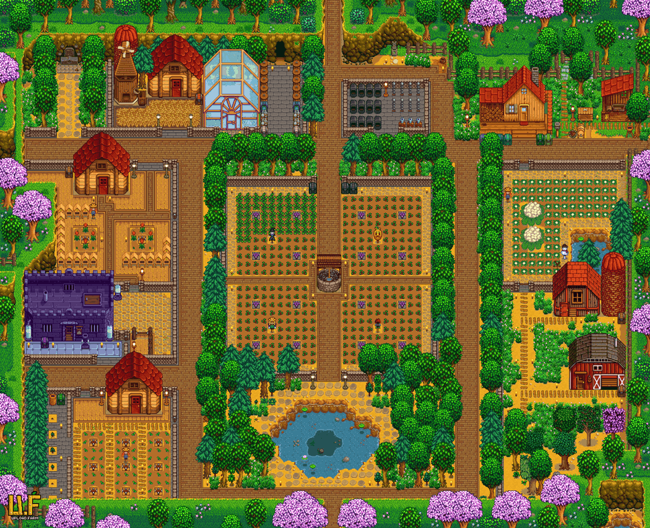 My Farm, 18th of Spring, Year 4 (Inspired by u