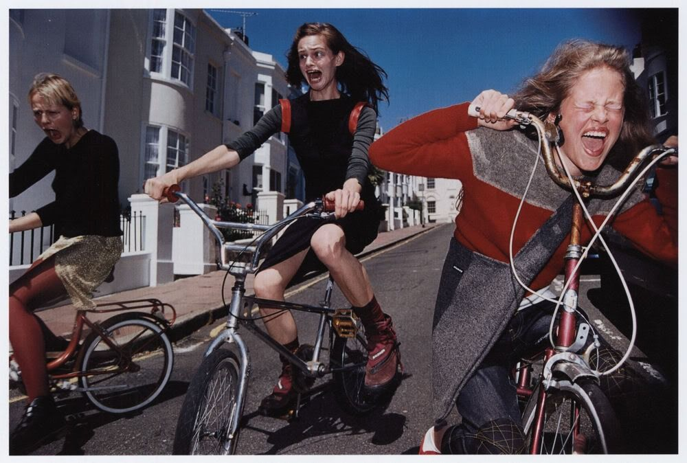 Elaine Constantine - Girls on Bikes, The Face (1997)