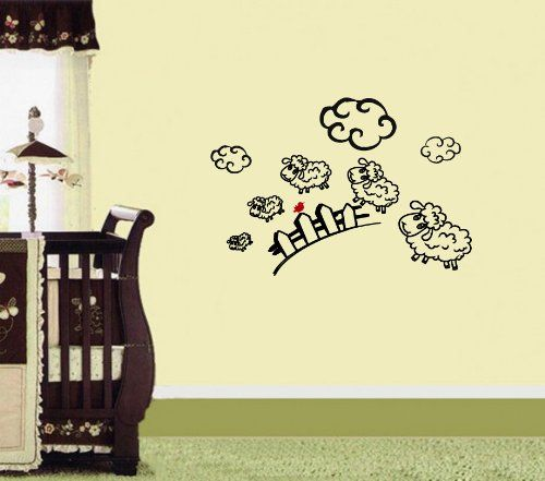 Pin by Lidiya BestDecals on Decals for Nursery | Pinterest | Room ...
