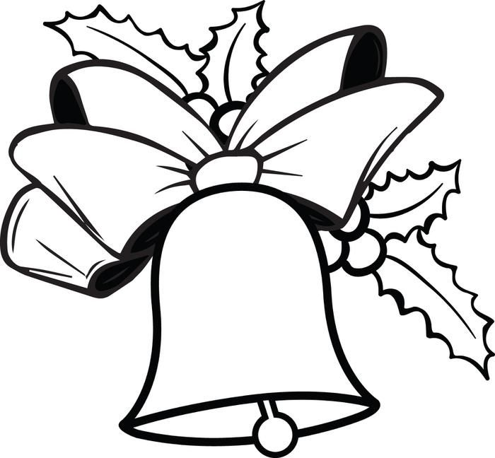 Christmas Bells Coloring Pages Procoloring