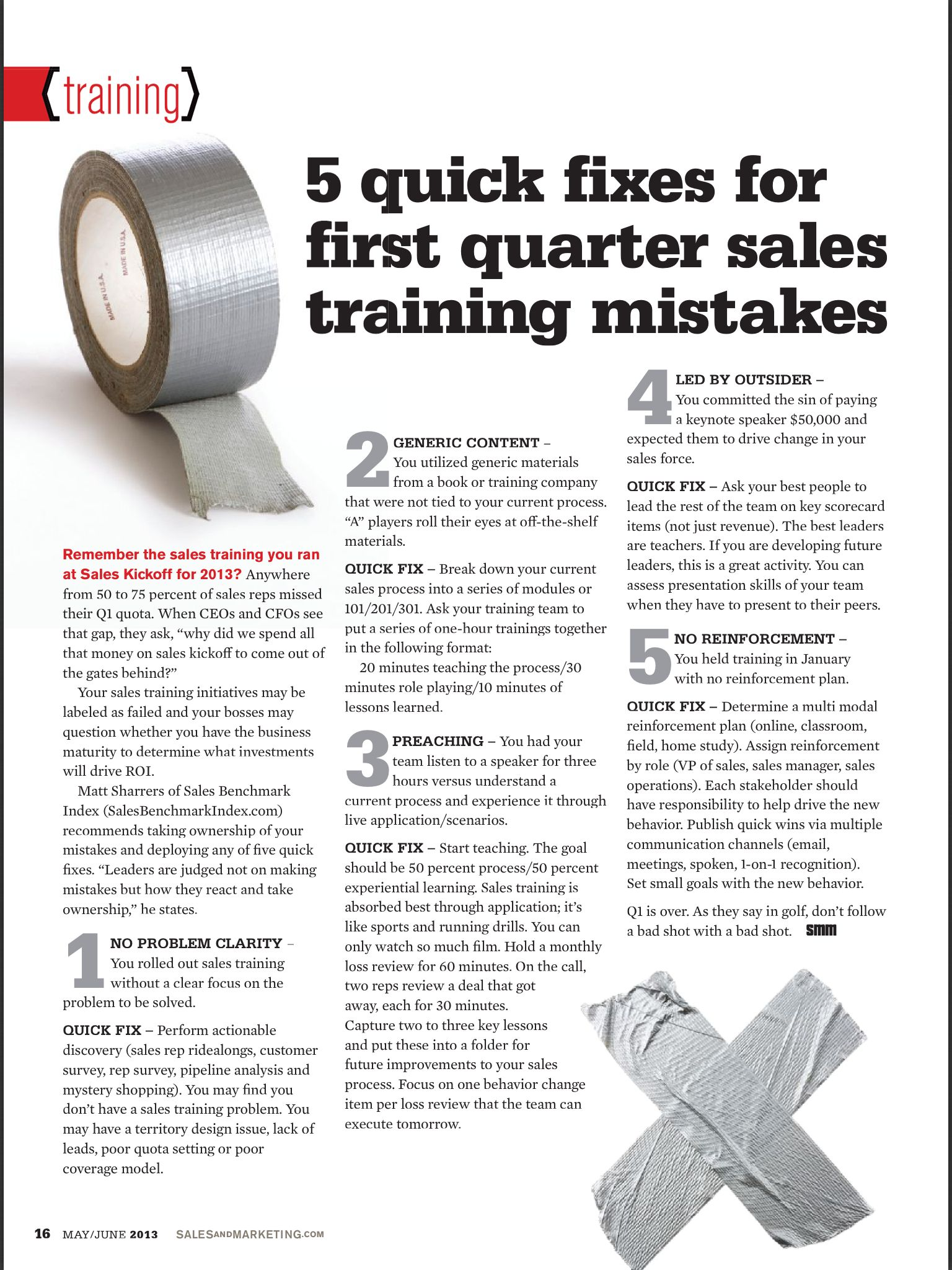5 quick fixes for sales training mistakes #sales #training | sales