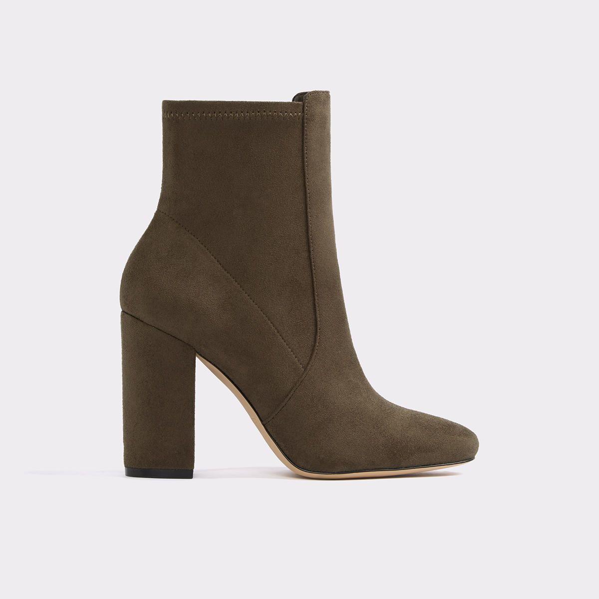 Aurella Khaki Women's Ankle boots   ALDO US