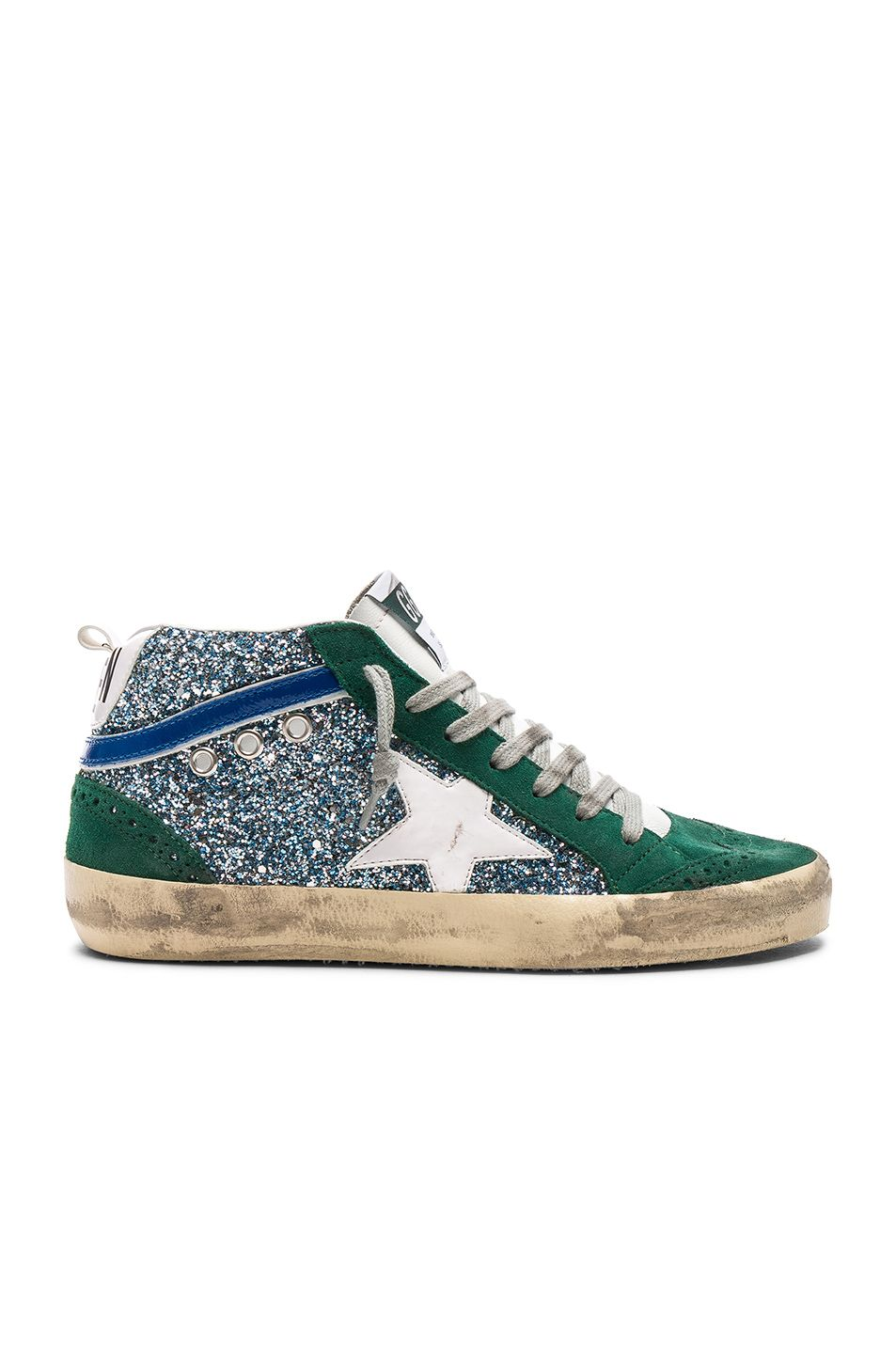 Golden Goose Mid Star Leather, Suede
