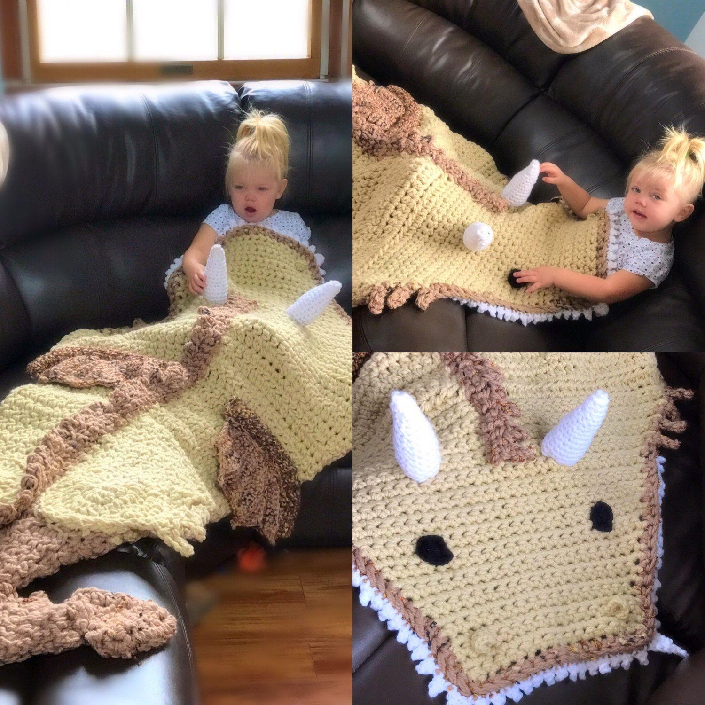 Crochet Dragon Snuggle Sack Blanket by ... - photo#26