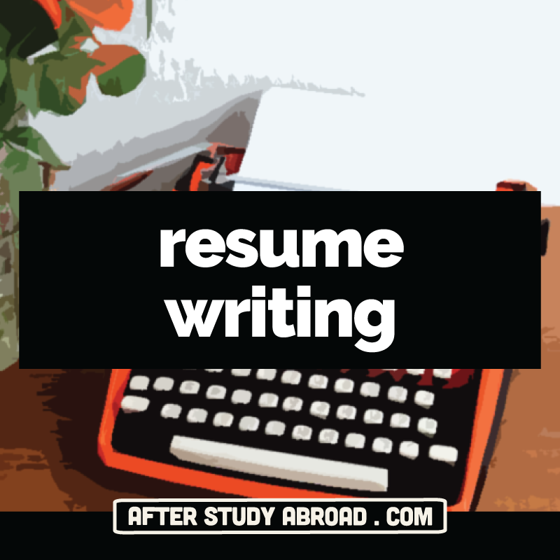 resume writing cover letters job applications after