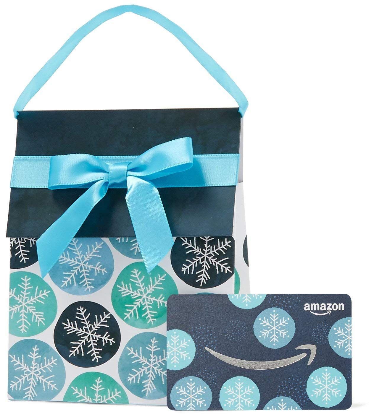 Gift Card is affixed inside a gift bag Gift amount may not