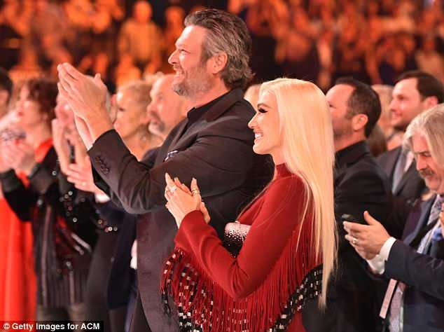 Blake Shelton and Gwen Stefani are so in love in their