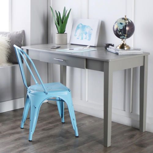 Wyatt Grey Desk   Art Van Furniture Home Design Ideas