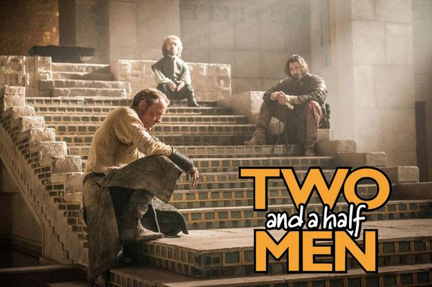 """This spin-off that we'd totally watch.   The 35 Funniest """"Game Of Thrones"""" Jokes From 2015"""