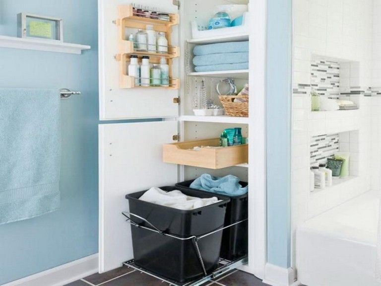 25 Elegant Bathroom Storage Creative Ideas Wall Storage