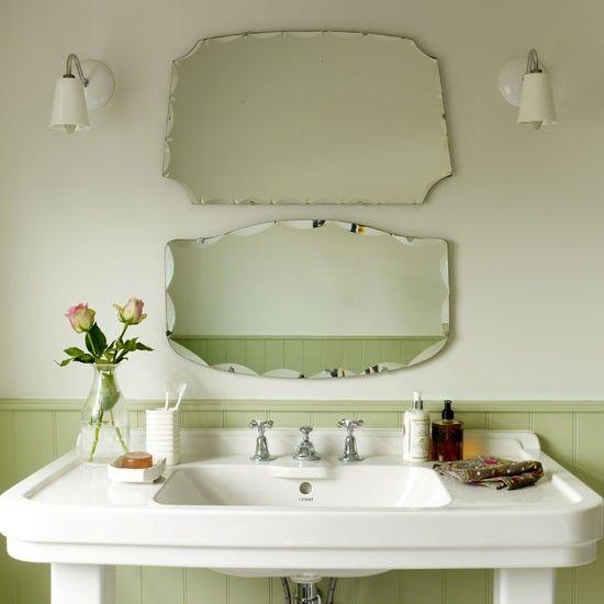 Contemporary Neutral Scheme Small Bathrooms Ideas Housetohome Co Uk Vintage Bathroom Lighting Bathroom Design Small Vintage Bathroom Mirrors