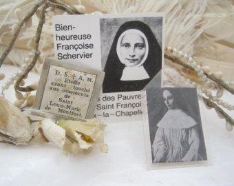 Veel van 3 vintage relikwie reliekschrijn - ex indumentis--katholieke item