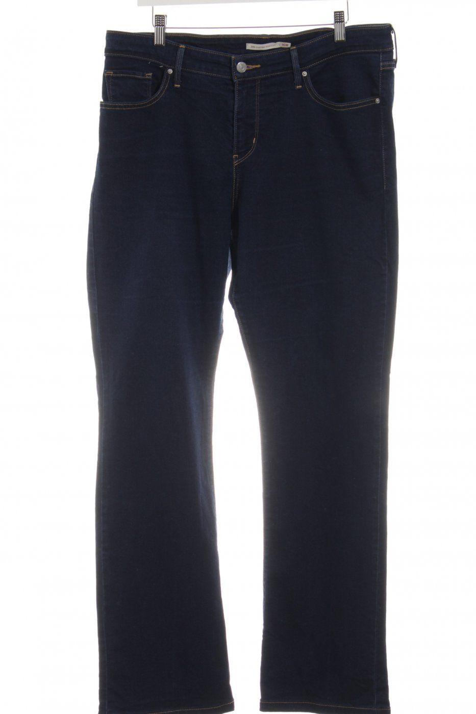 Levi's Slim Jeans blau Business-Look   Mädchenflohmarkt