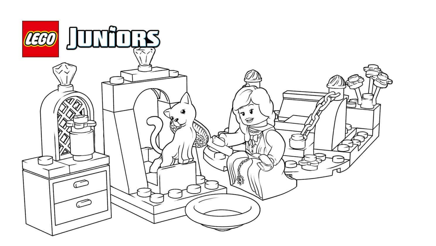 Lego 10668 The Princess Play Castle 1 Coloring Sheet Lego