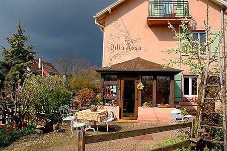 Hotel Villa Rosa, Hotel au naturel im Elsass, in der Nähe von Colmar