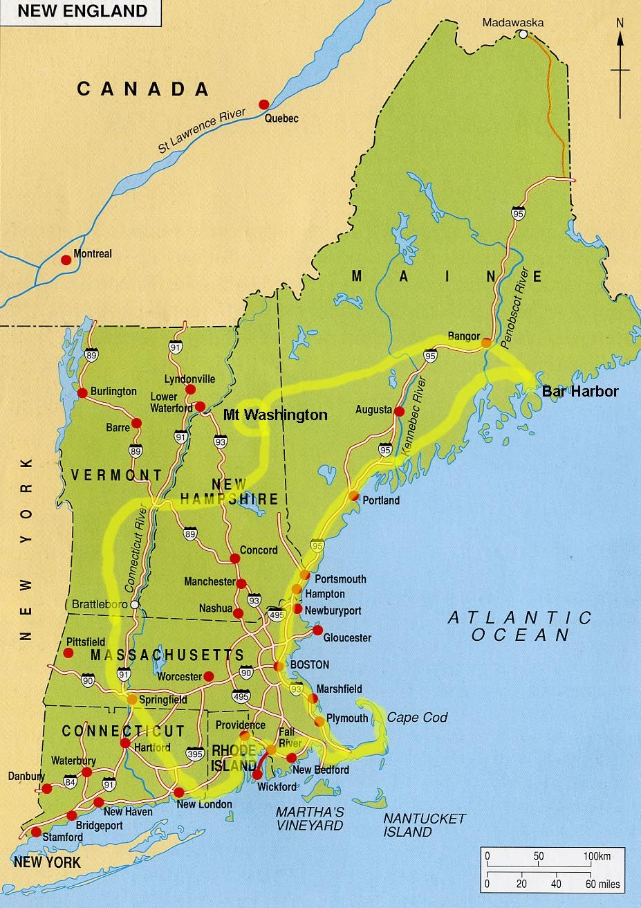 New England Coast Map new england pictures   Bing Images | New England | New england