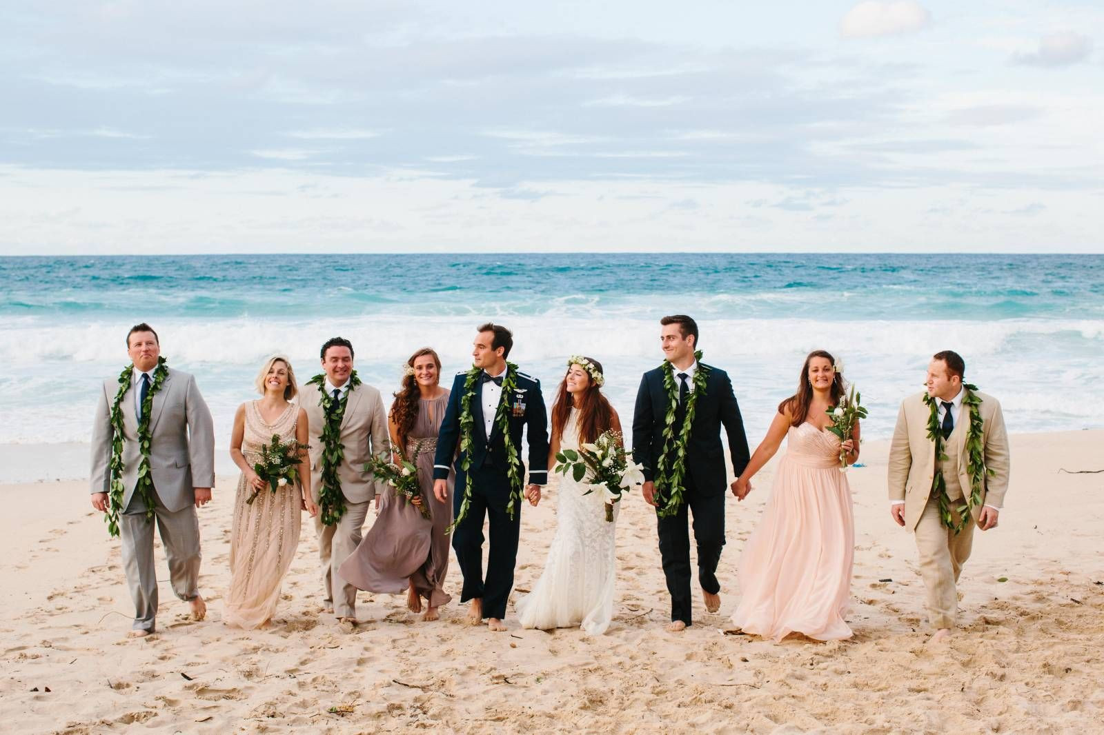 wedding intimate simple hawaii beach