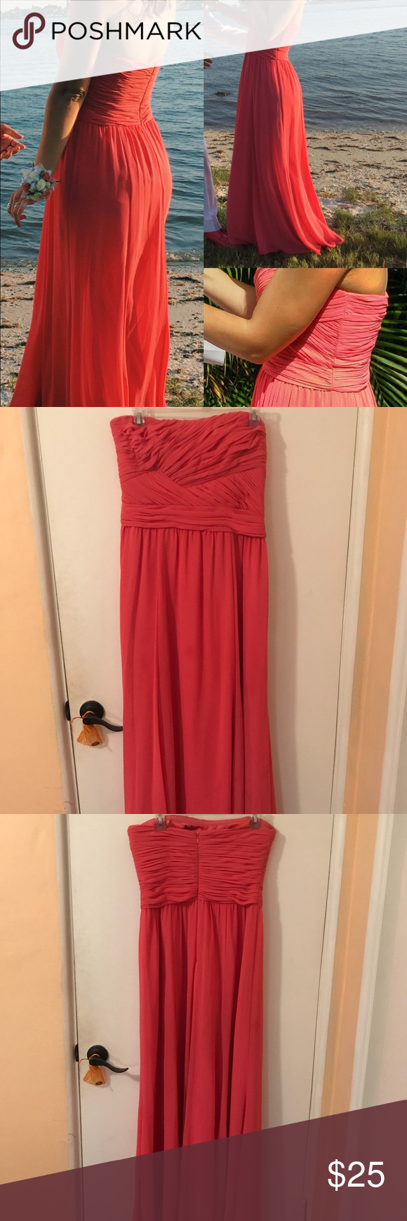 Prom dress size my posh picks pinterest coral dress prom