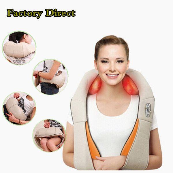 Factory Direct | Shoulder massage, Neck massage, Shiatsu ...