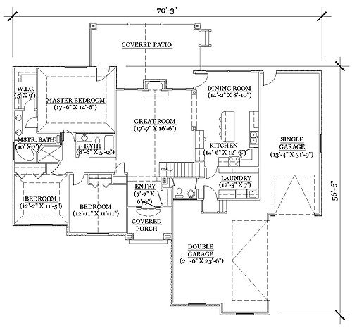 Master Suite Home Addition Plans 14x24