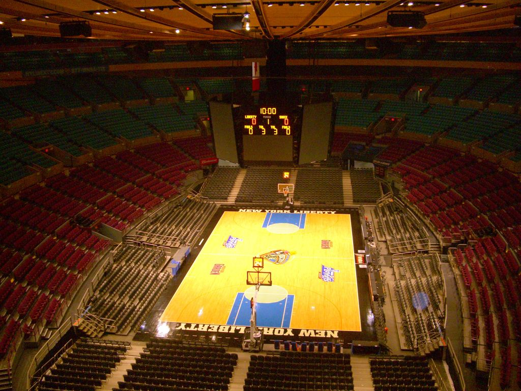 Inside Madison Square Garden New York Madison Square Madison Square Garden Madison