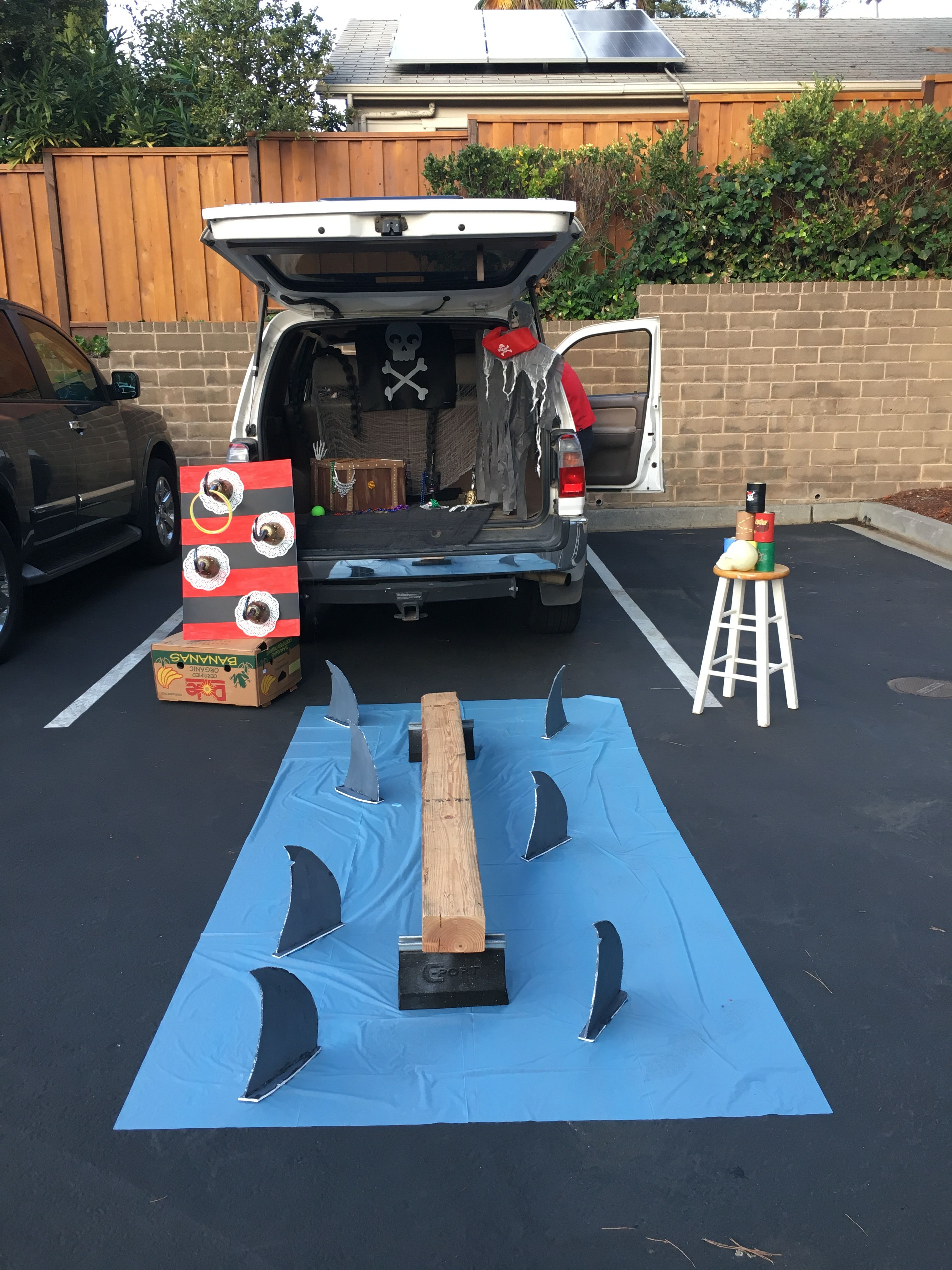 Pirate Trunk Or Treat Trunk Or Treat Truck Or Treat Halloween Kids