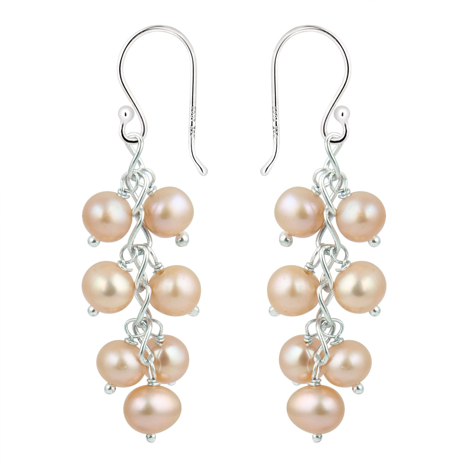 This Beautiful Earrings provides from the Pearlz Gallery. Get  one such amazing piece of Pearlz Gallery 925 Sterling Silver With Fresh Water Pearl Earrings at INR 625.00.Check out our latest designs of Earings.
