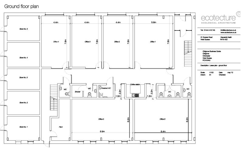 business floor plan