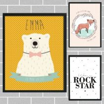 lovely #kids #shops ☆ the birds and the bees | posters en kaarten, Deco ideeën