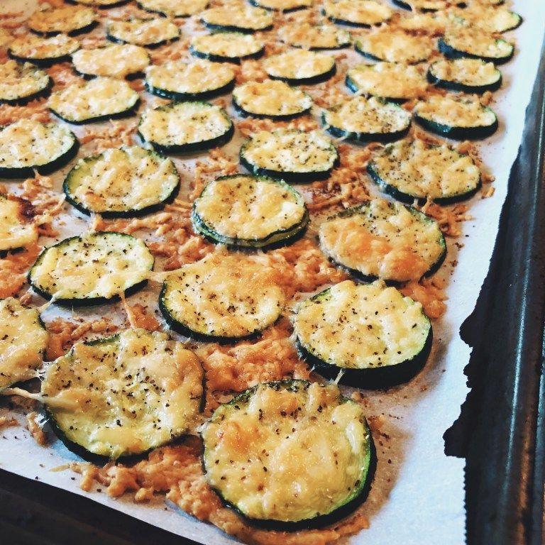 Photo of keto parmesan zucchini crisps