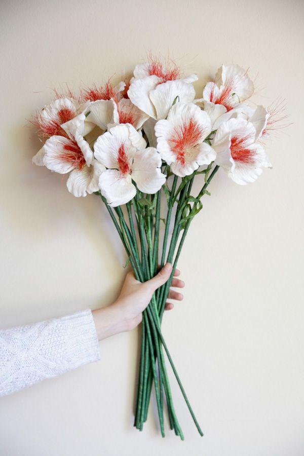 Paper flowers homemade flowers venus white paper flower paper flowers homemade flowers venus white mightylinksfo