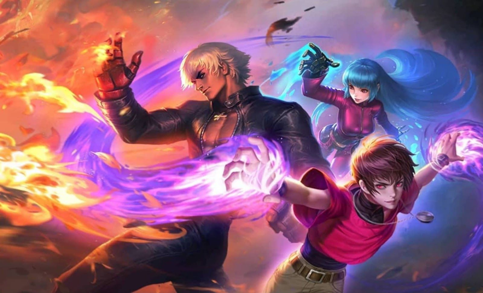 Mlbb Wallpaper Hd 4k King Of Fighters Moba Legends Anime