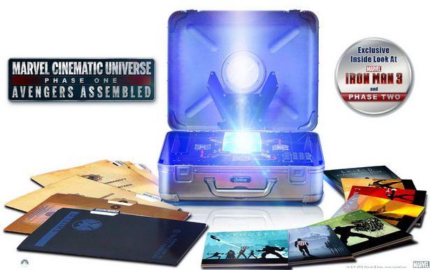 Marvel Universe Phase One El Preciado Maletin De Los Vengadores Lotraigoconflybox Marvel Cinematic Avengers Assemble Marvel Cinematic Universe