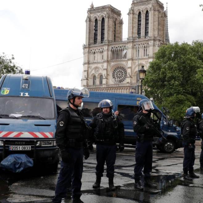 Frankreich Polizei