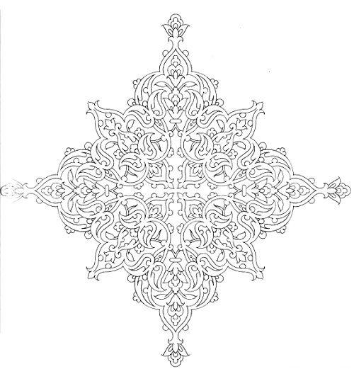عکس نقوش نقش ها و طرح های اسلیمی Islamic Art Pattern Islamic Patterns Islamic Art