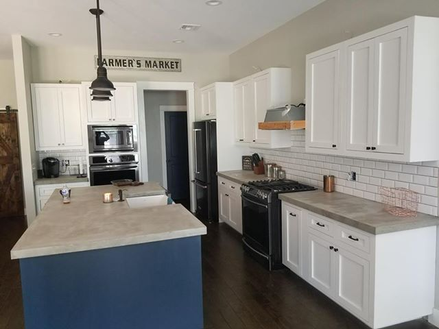 One Step Concrete Countertop Overlay Gray Or White In 2020