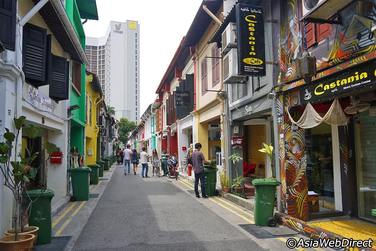 5 Great Stores on Haji Lane in Singapore Great