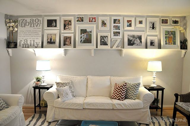 What a neat idea if you love displaying pictures like I do