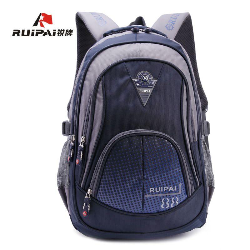 08ae94f3affd RUIPAI Polyester School Bags Children s Backpacks Girls Schoolbag Backpack  Mochila Bookbag Shoulder Bags For 3-6 Grade