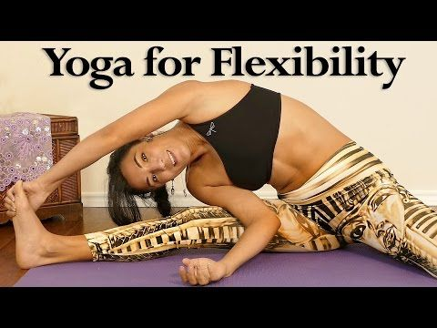 Beginners Yoga for Flexibility, Relaxing 20 Minute Stretch Routine, Pain Relief, Sanela Fit - YouTube