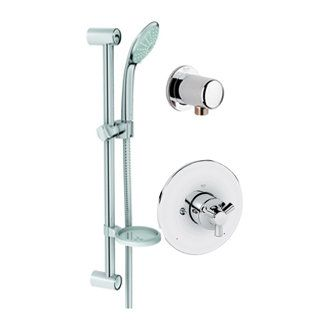 Grohe 26 128 1 Shower Systems Grohe Handheld Shower Head