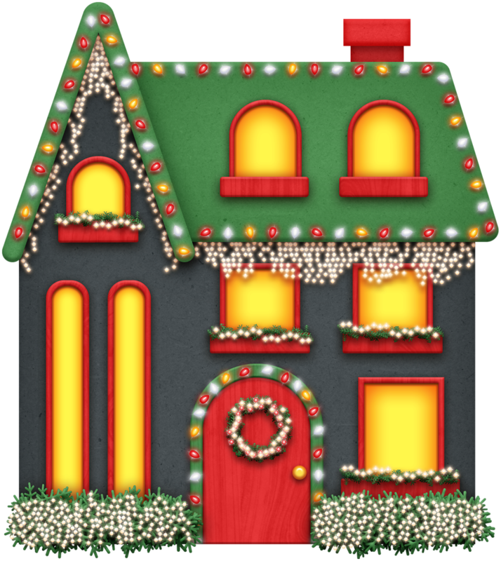 Outdoor Christmas Decorations Clipart: CLIP ART - CHRISTMAS 2 - CLIPART