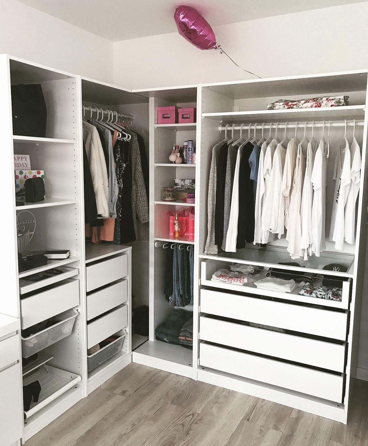 Closet Ikea In 2020 Eckkleiderschrank Ankleide Zimmer Schminkzimmer