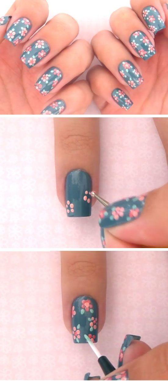 Fabelhafte Fingernägel-Dekoration zum selber machen mit Einleitung für einfach effektvolles Nageldesign