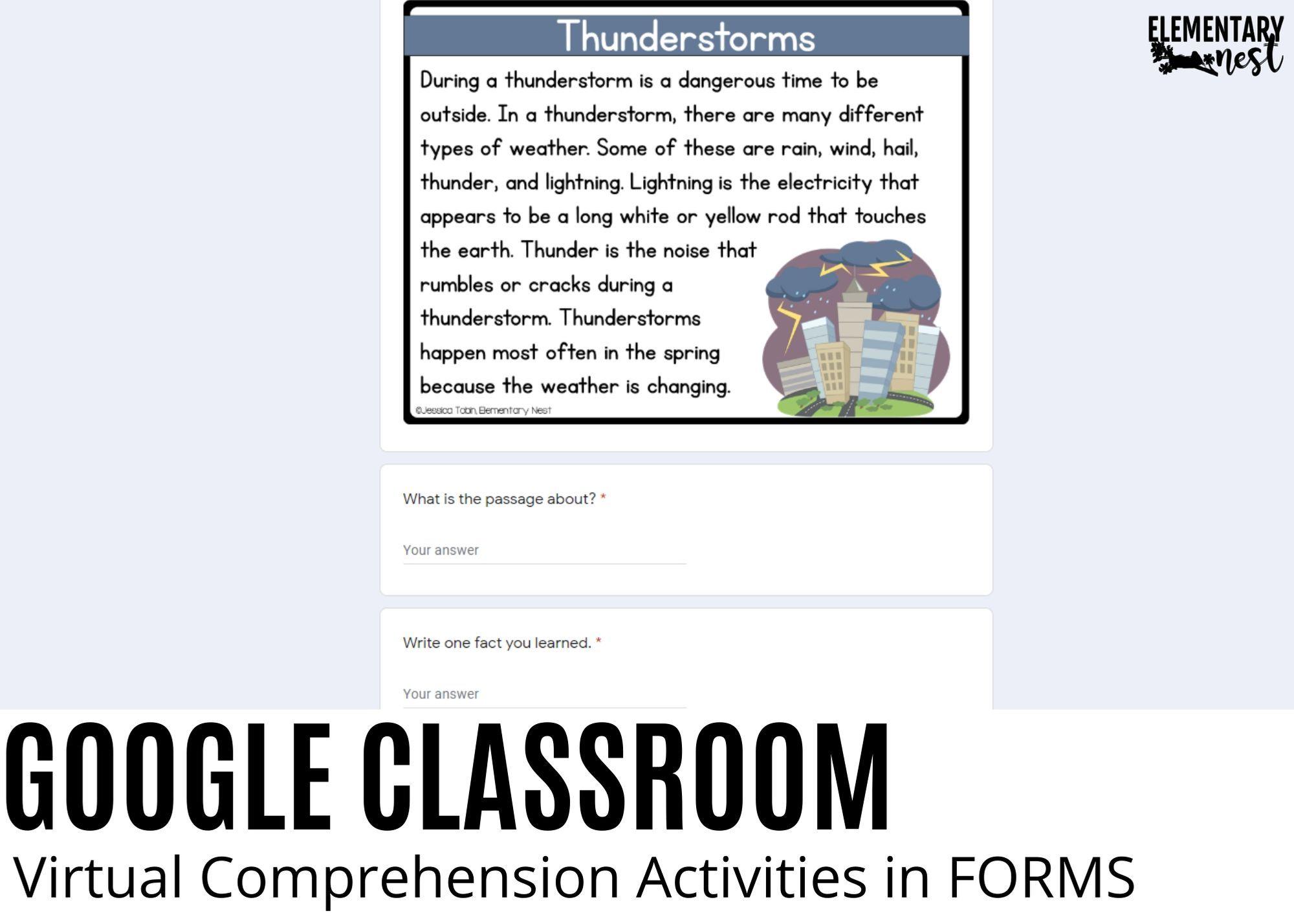 Virtual Comprehension Comprehension Activities Reading Comprehension Passages Reading Comprehension Activities [ 1428 x 2000 Pixel ]