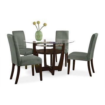 American Signature Furniture  Alcove Sage Dining Room 5 Pc Fascinating American Signature Dining Room Sets Inspiration