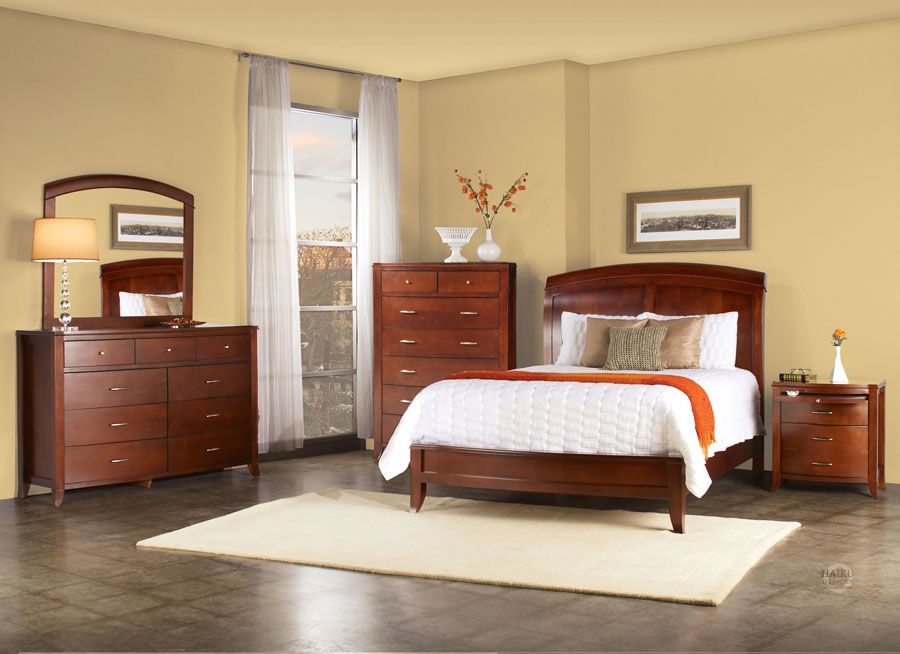 Contemporary Bedroom Furniture Part - 50: The Newcastle Contemporary Bedroom Furniture Set From Haiku Designs Is A  Richly Designed, Vibrant Bedroom