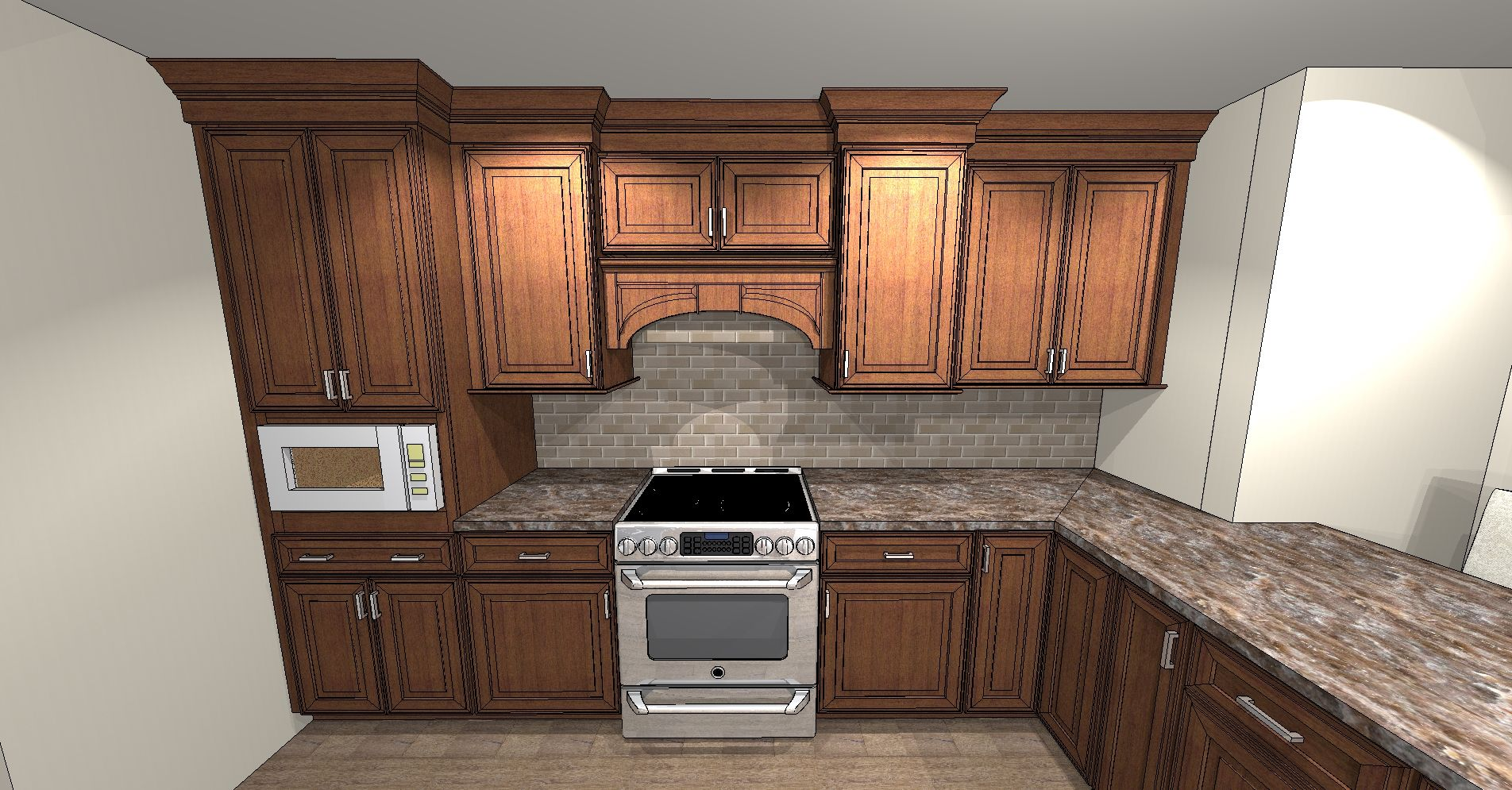Omega cabinetry Finish: Cinnamon brushed sepia 1 of 2 ...
