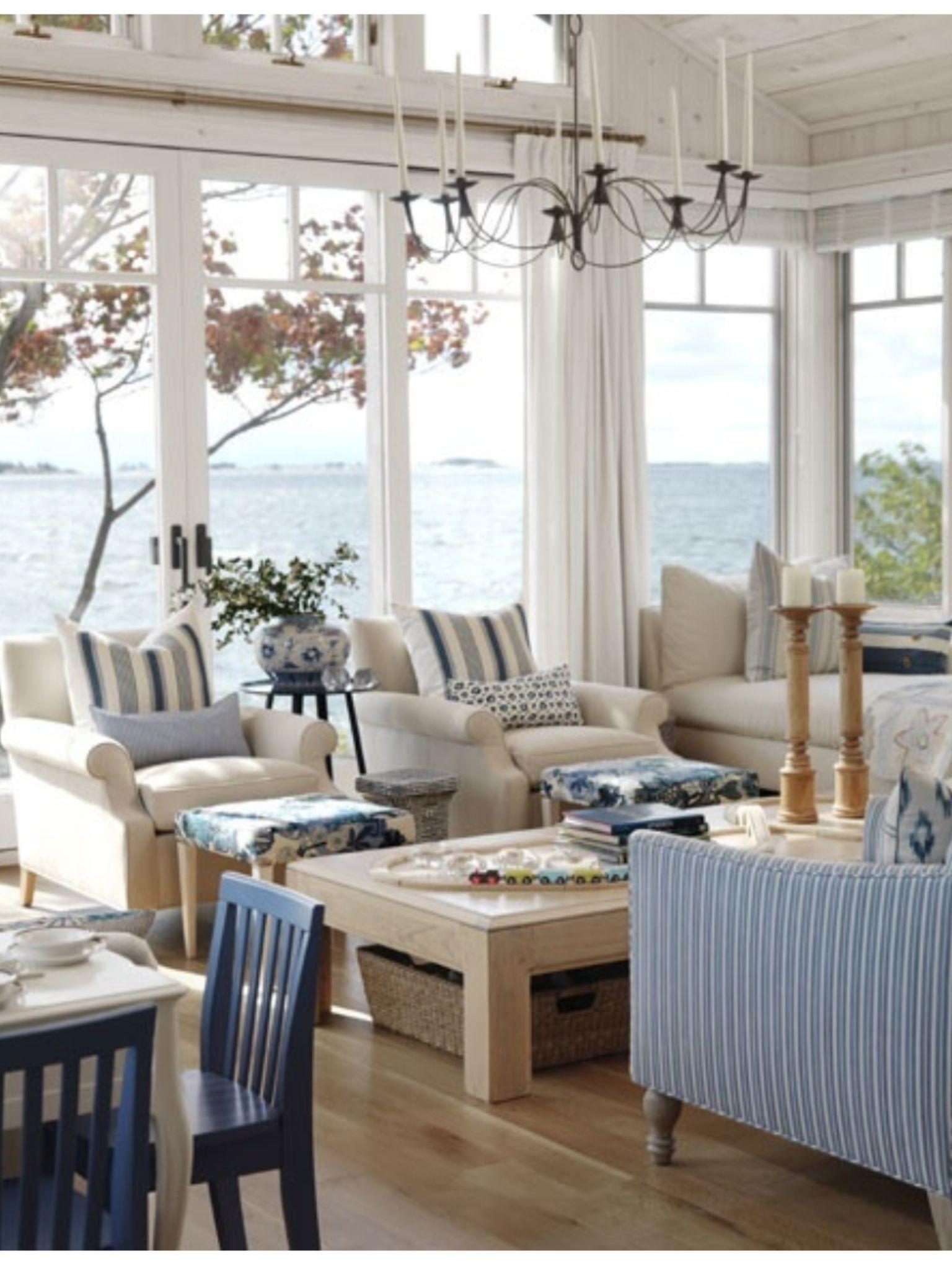 Best Cool Coastal Living Room Light Furniture On Timber Floors 400 x 300